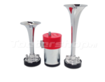 Dubbele FIAMM luchthoorn double air horn set