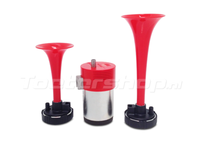 Double air horn kit